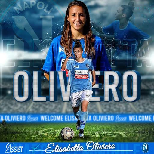 Elisabetta Oliviero Napoli Calcio femminile