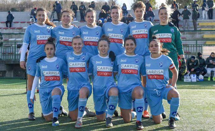 Napoli Calcio femminile: finAlmente Serie A.