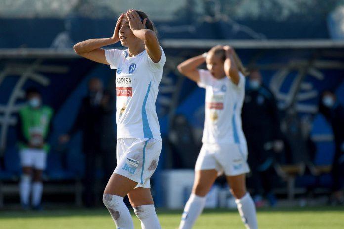 Napoli Calcio femminile: ancora beffa per le azzurre