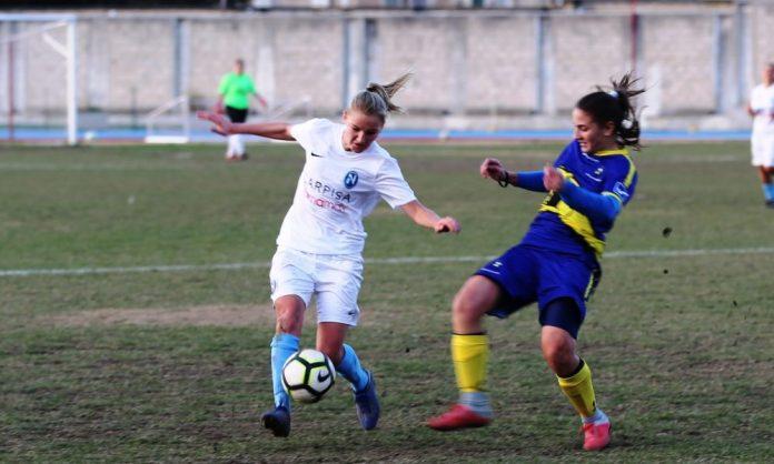 Napoli Calcio femminile: esordio con vittoria