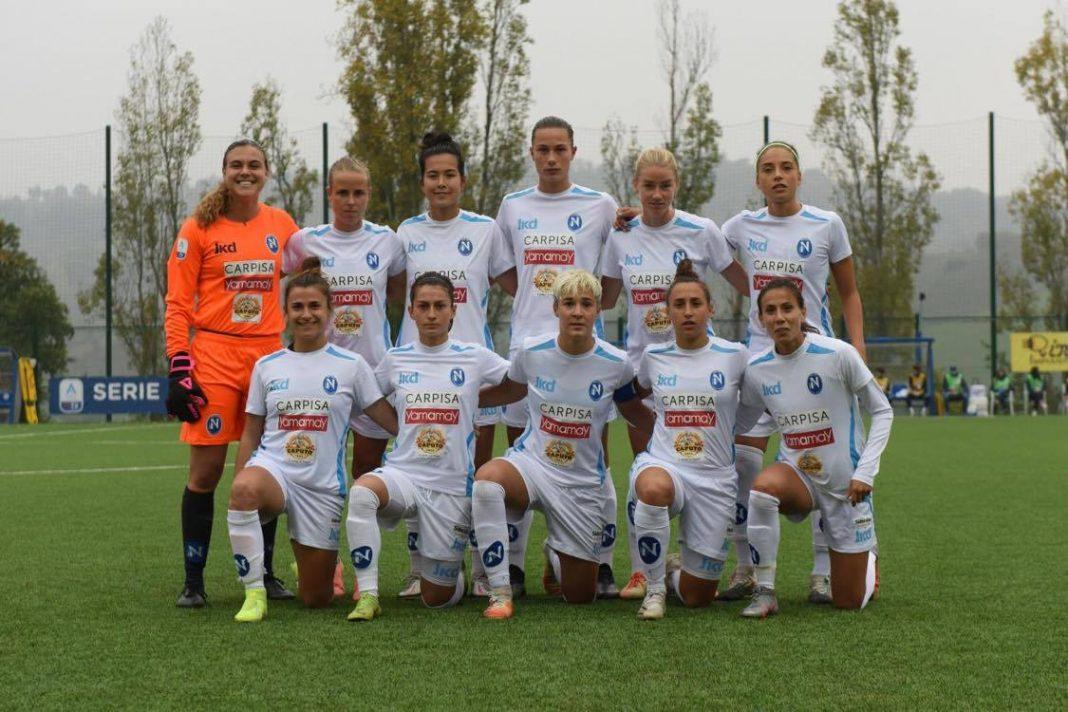 Napoli - Juve femminile: prima volta nella storia