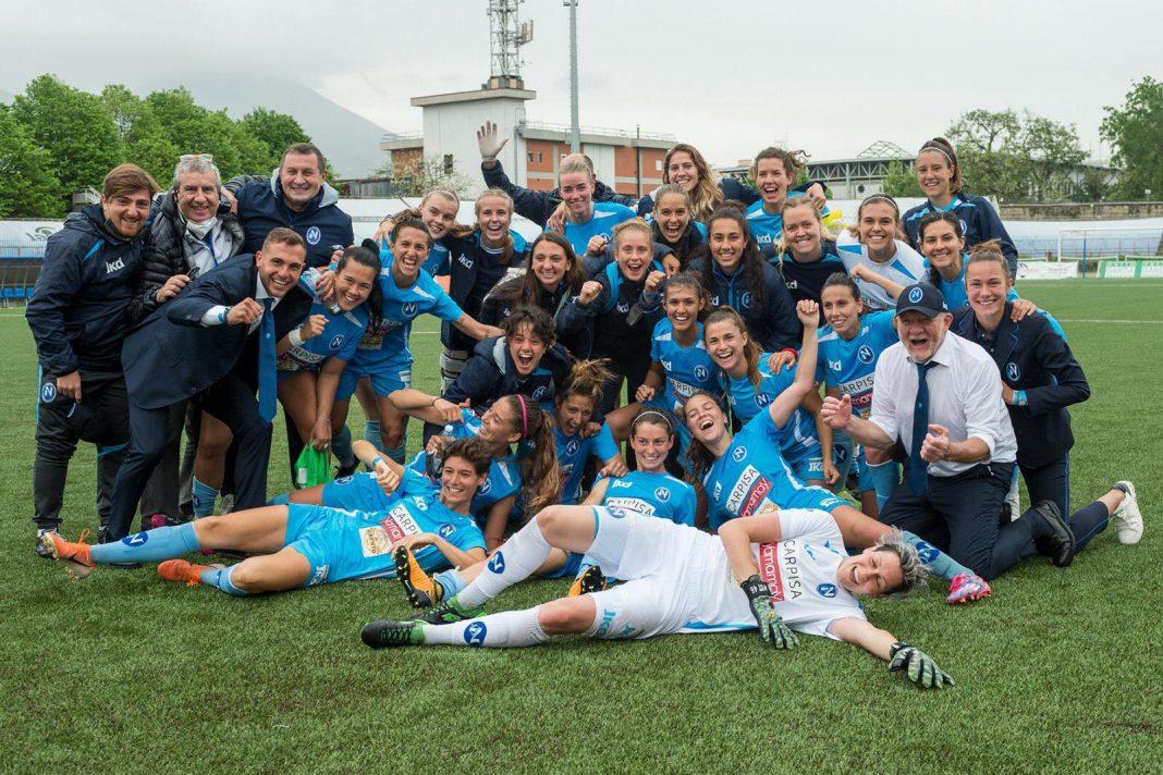 Napoli Calcio femminile: le azzurre calano la manita
