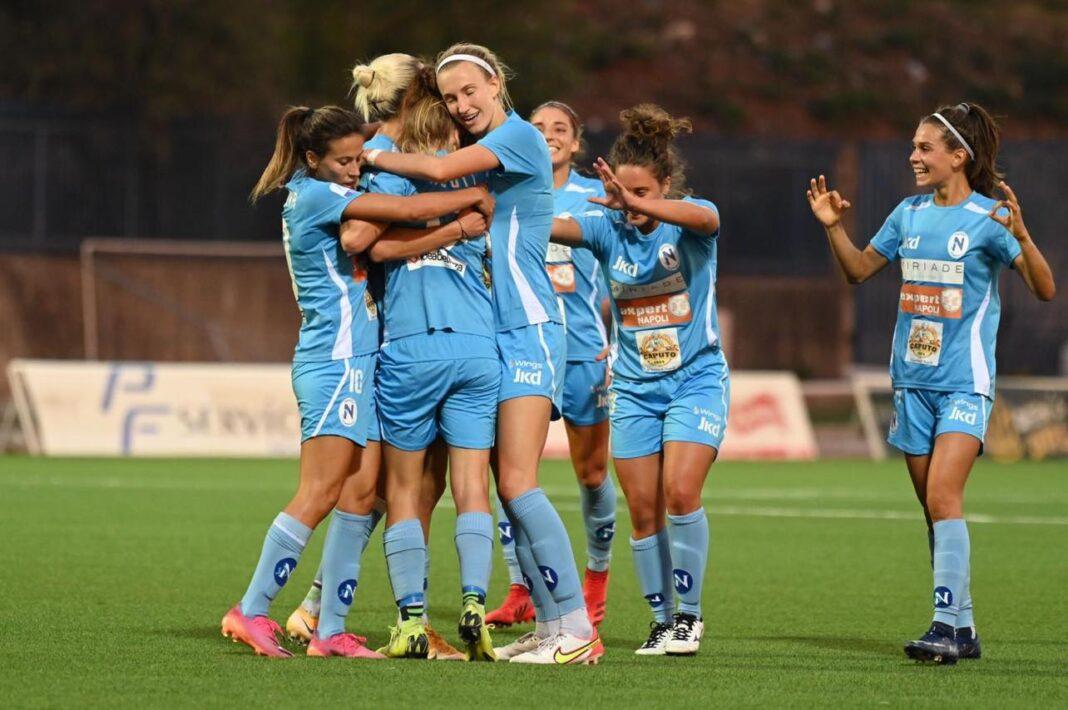 Napoli Calcio femminile: è vittoria contro le viola
